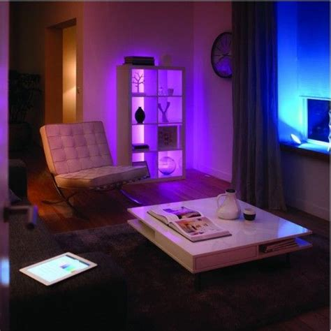 smart home light strips add multicoloured mood lighting anywhere in your home with