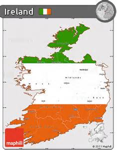 Simple Ireland Map