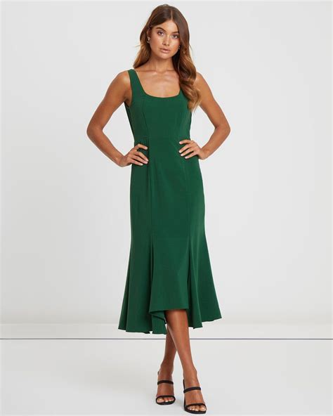Suranne Midi Dress by CHANCERY Online   THE ICONIC ...