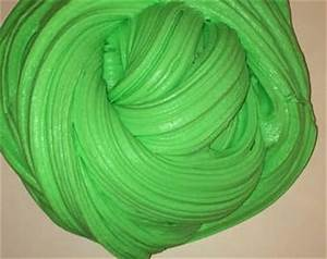 Green fluffy slime
