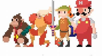 Pixel Nintendo Animations Tom Animation Donkey Punch