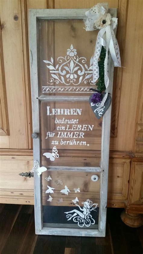 Alte Fensterrahmen Gestalten by Altes Fenster Geschenk Lehrer Abschied Upcycling