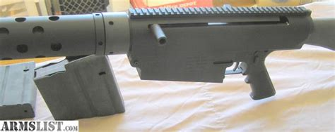 Cobb 50 Bmg by Armslist For Sale New Ar 50 Cal 10 Rifle
