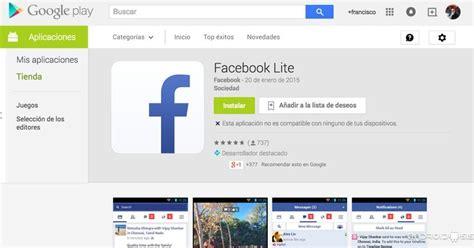 descargar facebook lite  android en formato apk