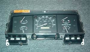 1994 1995 Ford F150 F250   Gas Only  Instrument Cluster