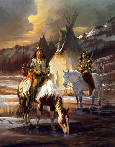 Jim Carson Large Image View for Blackfoot Brothers