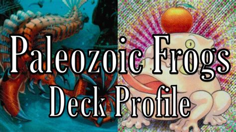 Masked Deck July 2017 by Paleozoic Deck Profile July 2017