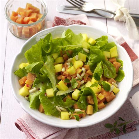 papaya essen anleitung mango papaya salat rezept ww deutschland