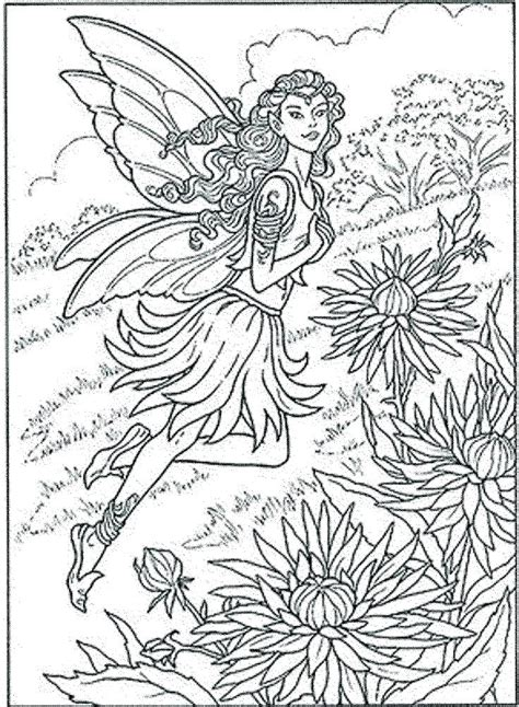Intricate Fairy Coloring Pages at GetColorings.com   Free ...