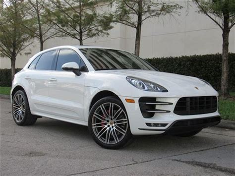 2015 Porsche Macan Turbo German Cars For Sale Blog
