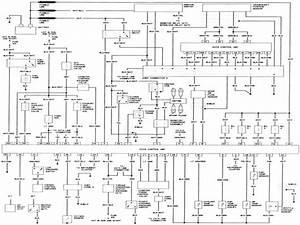 1995 Nissan Pick Up Headlight Wiring Diagram