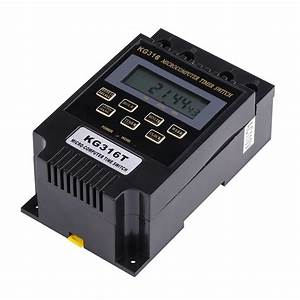 New Quality Ac 110v  220v Time Relay Switch Kg316t Digital