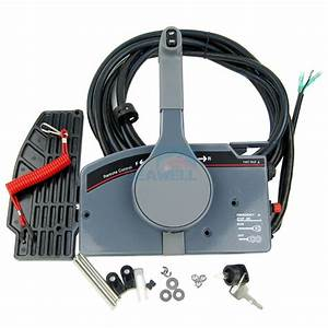 Boat Outboard Remote Control Box For Yamaha 10pin Cable