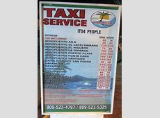 Taxi Santo Domingo Dominikanische Republik Flughafen