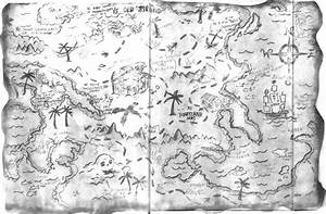 Black And White Treasure Map Pictures to Pin on Pinterest ...