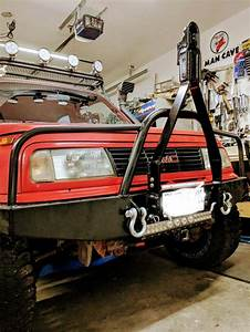 Equipment Tracker Front Bumper With Tow Bar Adventure Car Suzuki Samurai