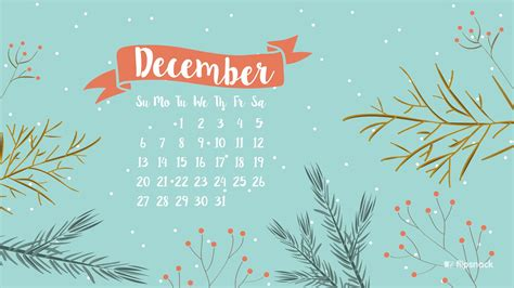 December 2017 Calendar Wallpaper  Calendar Template 2018
