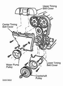 1997 Ford Contour Serpentine Belt Routing And Timing Belt