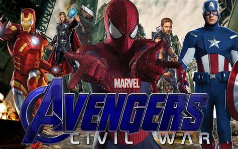 Avengers Civil War Wallpaper Wallpapersafari