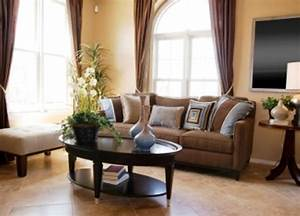 contemporary living room interior design ideas with beige With interior decor brown living room