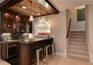 20 cool basement ceiling ideas hative With fun basement basement bar ideas