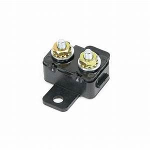 Motorguide 8 Ga Battery Cable  50 Amp Manual Reset Breaker