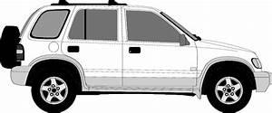 1999 Kia Sportage Suv Blueprints Free