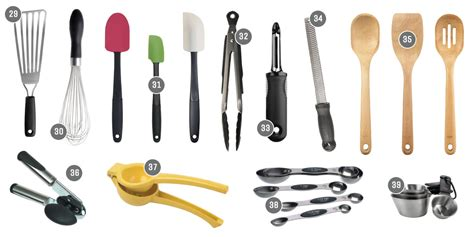 create  functional kitchen essential cookware  tools