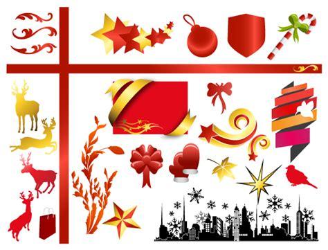 christmas adornment vector design 04 vector christmas