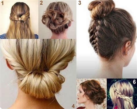 acconciature fai da te  capelli lunghi  medi
