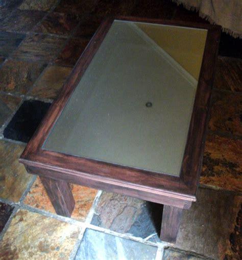 infinity mirror coffee table building tutorial