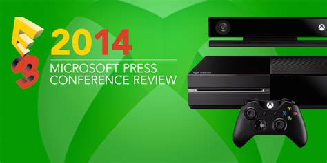 e3 2014 microsoft press conference review gamecloud