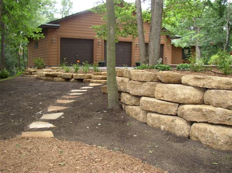 boulders for retaining wall boulders options for large stone in the landscape environmentallandscapes