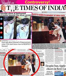 After Deepika Padukone cleavage controversy, TOI faces ...