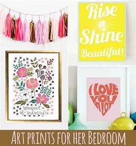 Art, Prints, For, Her, Bedroom
