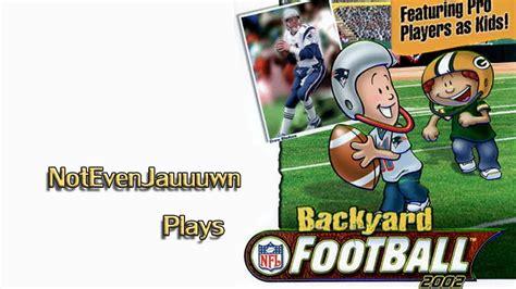 Backyard Football Team Names by Backyard Football 2002 Dallas Cowboys Vs Philadelphia