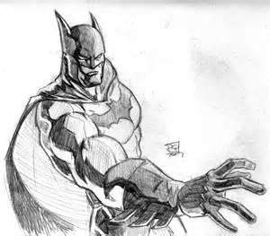 Batman Pencil Sketch Drawing