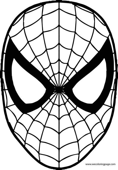 superhero masks coloring pages coloring home