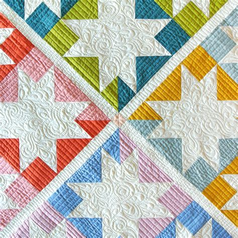 stars hollow quilt pattern  suzy quilts