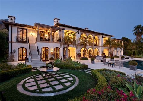 Newly Listed $189 Million Mediterranean Mansion In