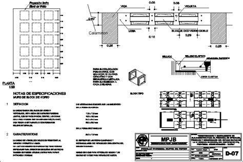 glass block detail dwg detail  autocad designs cad