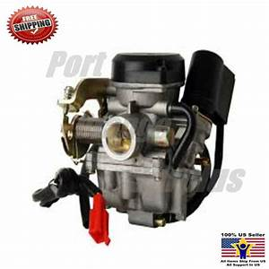Chinese Scooter Carburetor Tao Tao 50cc Atm50