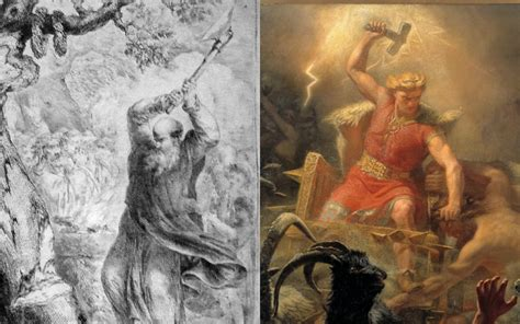 thor st boniface and the origin of the christmas tree
