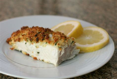 baked halibut recipe baked halibut and parmesan crumb topping recipe