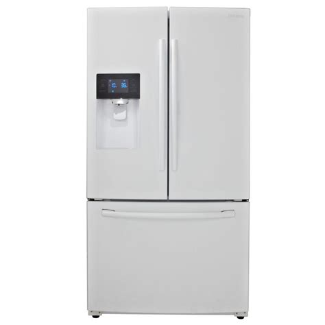 white door refrigerator samsung refrigerator 24 6 cu ft door refrigerator
