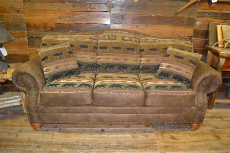 deer valley sofa rustic furniture mall  timber creek
