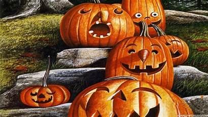Halloween Funny Wallpapers Desktop Backgrounds Pumpkin Fun