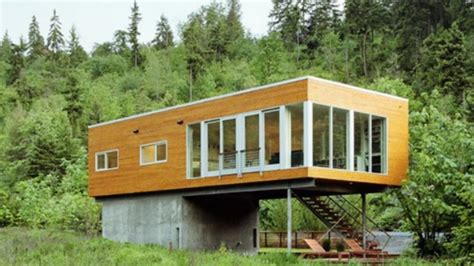 prefab cabins interior design youtube