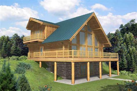 bedrm  sq ft log cabin house plan