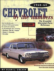 Chevrolet By The Numbers 1960